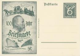 DR Privat-Ganzsache Minr. PP149 D1/01 Postfrisch - Deutschland
