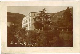 Sorrento La Rupe 1922  Fotografica  LB160 - Napoli