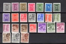 Séries Courantes D'Indonesia    Yv. 343 / 366**, Cote 254 €,   TB Et Frais - Indonesia