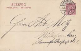 Schleswig Ganzsache Minr.P3 Flensburg 5.3.20 - Deutschland