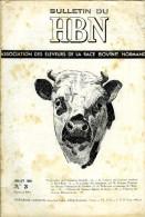 Race Bovine Normande Pure : Bulletin Du HBN (Herd-Book Normand) N° 3 (la Lutte Contre La Brucellose - L'ensilage)) - Animaux