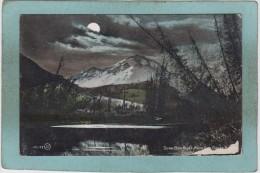 DOWN  BOW  RIVER  FROM  SUN  DANCE  ROAD  -  BANFF  -  1907  -  ( Usures Bas  Droit ) - Banff