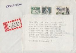 Berlin R-Brief Mif Gel. In UDSSR Postkrieg Ansehen !!!!!!!!!!!!!!!!!! - Berlin (West)