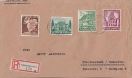 DR R-Brief Mif Minr.765,768,753,759 Wilhelmshaven - Briefe U. Dokumente