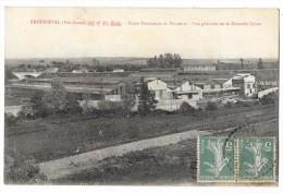 Cpa: 52 BROUSSEVAL - Ar. Saint Dizier - Hauts Fourneaux Et Fonderie, Nouvelle Usine 1919 - Autres Communes