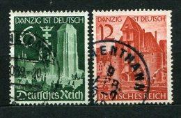 Deutsches Reich Nr.714/5        O  Used       (2410) - Deutschland
