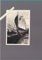 Brest Pontancon - Marine - Casabianca, escorteur d'escadre, en Bassin - mercredi 8 avril 1959