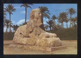 Guiza *The Sphinx Of Sakkara* Sin Datos Editor. Circulada 1991, Rodillo Tinta Roja. - Aéreo