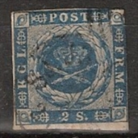 Danmark 1854, Mi. 3 - 2 Skill - Oblitérés