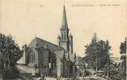 - Finistere - Ref- D118 - Le Juch - Abside De L Eglise - Petit Plan Procession Et Fete - Carte Bon Etat - - France