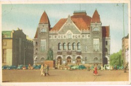 14403. Postal HELSINKI (Helsingfors) Finlandia.  Teatro Nacional - Finlandia
