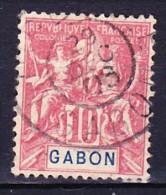 GABON 1904-07 YT N° 20 Obl. - Gabon (1886-1936)