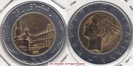 Italia 500 Lire 1987 Bimetallic KM#111 - Used - 1946-… : República