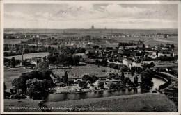 ! 1933 Alte Ansichtskarte Markkleeberg , Luftbild, Aero Express Leipzig, Nr. 6817 - Markkleeberg
