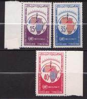 TUNISIE  N�605 / 606 / 607   NEUF** LUXE / MNH