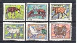DDR 1980  YT 2181/86  ANIMAUX EN VOIE DE DISPARITION - [6] République Démocratique
