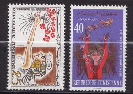 TUNISIE  N�620 / 621   NEUF** LUXE / MNH