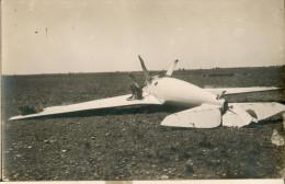 Carte Postale Photo: Crash D'un Bernard SMIB VI à Istres En Juin 1924 - 1919-1938: Between Wars