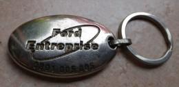Porte Clefs -   FORD -  ENTREPRISE - Glissez Moi Dans Une Boite Au Lettre De La Poste - Porte-clefs