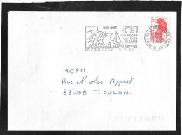 FLAMME PERMANENTE  44  LE POULIGUEN - Mechanical Postmarks (Advertisement)