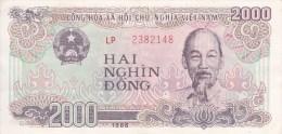 Billet Viêt Nam 2000 Dong - Vietnam