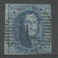 Belgique - Médaillons N°11A(1) Obl. P112 STAVELOT