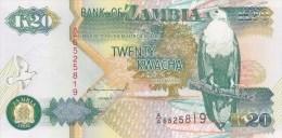 Billet Zambie 20 K De 1992 - Zambia