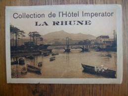 Carte Très Rare Collection De L´hôtel Imperator La Rhune - Francia
