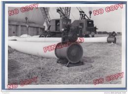 Au Plus Rapide Photo Construction Radome Pleumeur Bodou 1962 Côtes D´Armor Beau Format Très Bon état - Luoghi