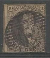 Belgique - Médaillons N°10(1) Obl. P132 WETTEREN