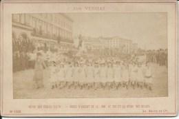 Photography FO000065 - Jan Verhas: Revue Des Ecoles (1878) 16.5 X 10.7 Cm - Places