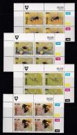 VENDA, 1992, MNH Controls Blocks Of 4, Bees, M 237-240 - Venda