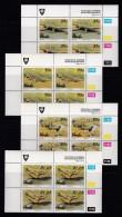 VENDA, 1992, MNH Controls Blocks Of 4, Crocodil Farm, M 246-249 - Venda