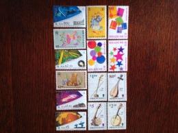 Lot De 14 Timbres Neufs Sans Gomme - Hong Kong (...-1997)