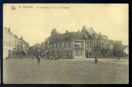 Cpa  Belgique St Ghislain  La Grand'rue Et Rue De La Planche  SEPT2 - Saint-Ghislain