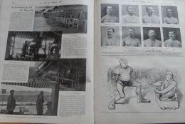 VIE AU GRAND AIR 1899N°61:FINALE COUPE AMERICA/ECUYERES HTE ECOLE/ESCRIMEURS/VIE AU POLE NORD/MARSEILLE TIR/PRIX ROOSEVE - Revistas - Antes 1900