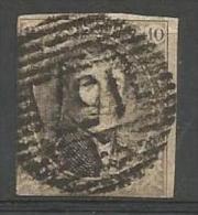 Belgique - Médaillons N°10(1) Obl. P158 ECAUSSINNES