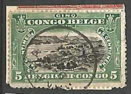 CONGO BELGE N� 64 OBL SUR FRAGMENT