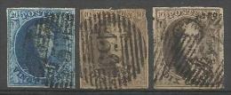 Belgique - Médaillons N°7(1)+10(2) Obl. P159 LUTTRE - Belgique