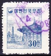COREE DU SUD 1954-55 YT N° 136 Obl. - Corée Du Sud