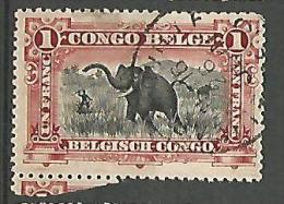 CONGO BELGE N� 60 OBL
