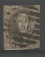 Belgique - Médaillons N°10(1) Obl. P186 DOUR