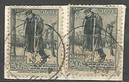 BELGIQUE N° 220 X 2 OBL - Belgien