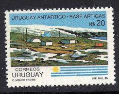 ANTARCTIC SCIENTIFIC STATION POLAR EXPLORATION URUGUAY Sc#1239 MNH STAMP - Uruguay