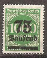 Deutsches Reich 1923 - Michel 288 ** - Ongebruikt