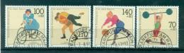 Allemagne -Germany 1991 - Michel N. 1499/1502 - Aide Sportive - Obli. - [7] République Fédérale