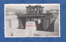Photo ancienne - BONE ( Alg�rie ) - Au port - Bloc pris et men� par Transbordeur - Photographie Sagnol