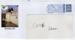 PAP--2006--DISSAY--86--Vienne--Le CHATEAU---cachet Mécanique SECAP Muette BEAUMONT--86 - Prêts-à-poster:Overprinting/Blue Logo