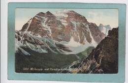 Mt.  TEMPLE  AND  PARADISE  VALLEYS   ROCKIES  - - Banff