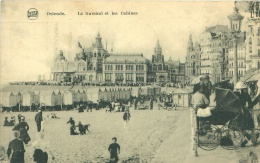 OSTENDE - Le Kursaal Et Les Cabines - Oostende